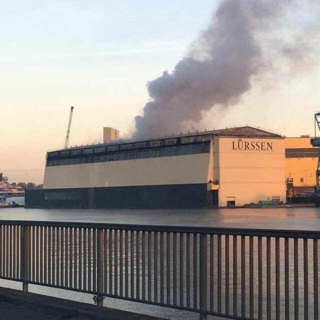 Insurers facing €590m payment over destroyed Lurssen new build