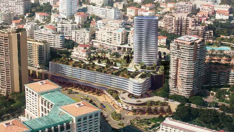 Monaco under constuction