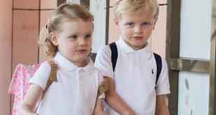 Prince Jacques and Princess Gabriella's First