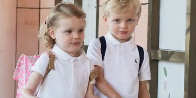 Photo of Prince Jacques and Princess Gabriella's First Day of School and other princely news
