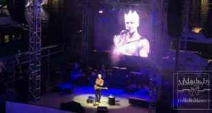 Sting performs for Monaco's Yacht Club