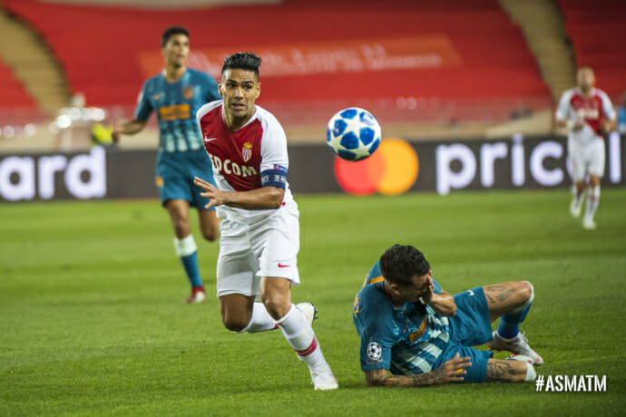 Photo of AS Monaco lost to Atlético Madrid 1-2 in the Champions League group stage opener