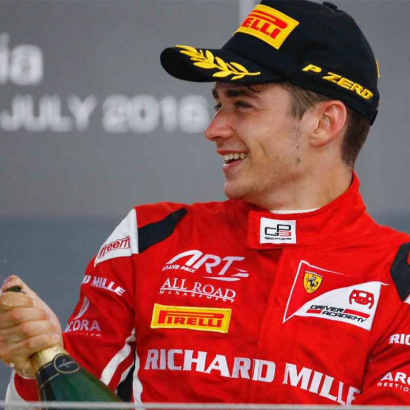 Formula 1: Charles Leclerc joins Ferrari