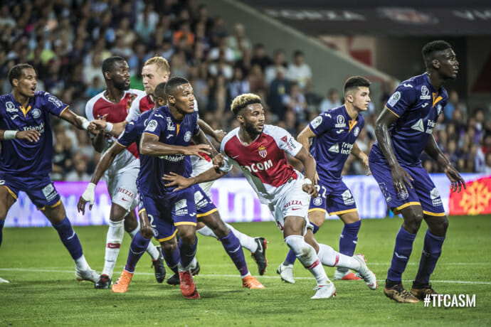 Photo of AS Monaco and Toulouse played to a draw