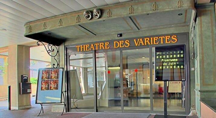 Variety theatre Monaco