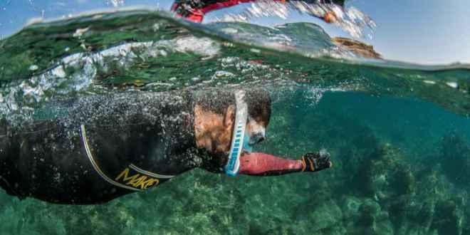 In A Marathon Swim To Monaco Remi Camus Champions Clean Seas