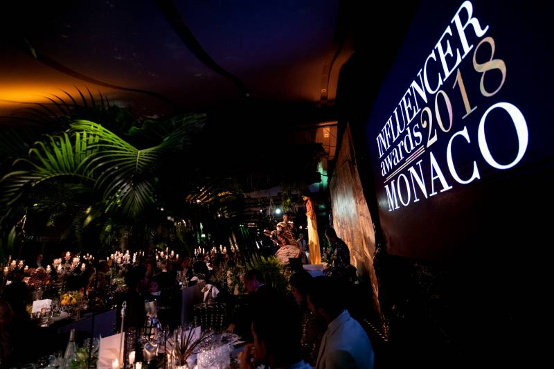 Photo of A Successful Start for the Influencer Awards in Monaco!