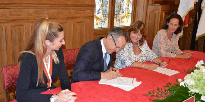 "The ""Mairie de Monaco"" by signing the National Pact sets a further step in the Monegasque Energy Transition"