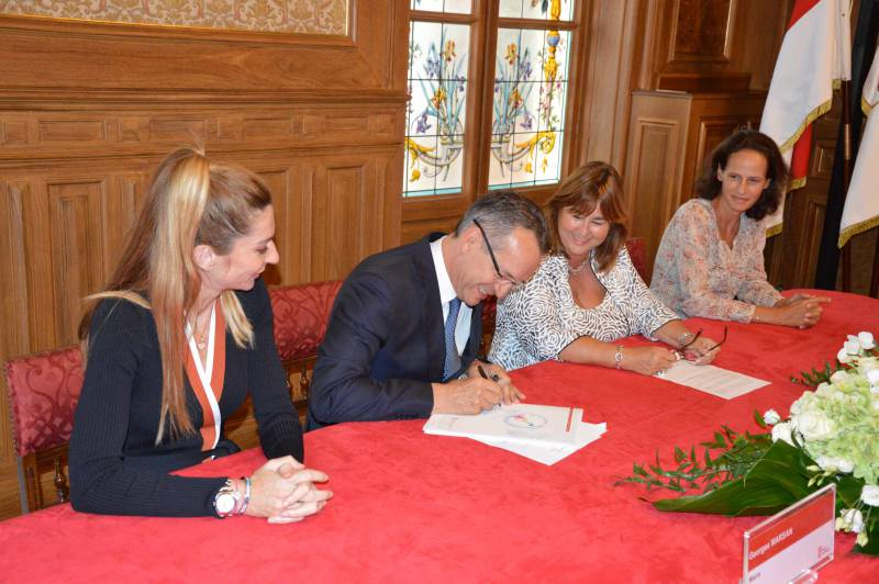 "Photo of The ""Mairie de Monaco"" by signing the National Pact sets a further step in the Monegasque Energy Transition"