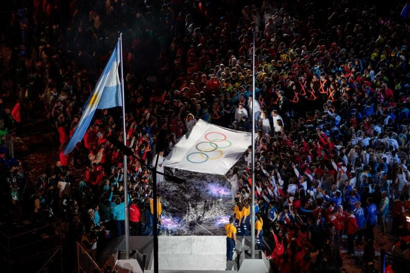 Monaco Waves The Flag High At Buenos Aires Youth Olympic Games