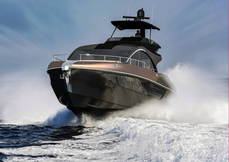 19-meter LY650 luxury yacht by Lexus
