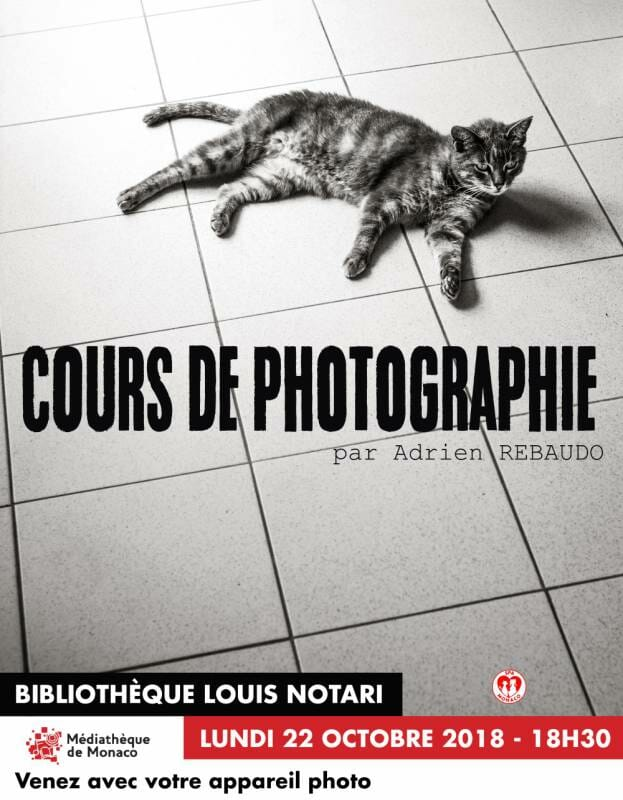 Photography course led by Adrien Rebaudo