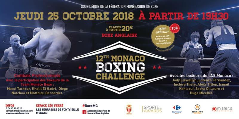 12th Monaco Boxing Challenge