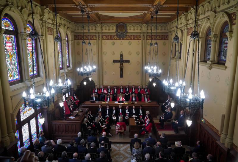 "The ""Audience Solennelle"" launched the New Monegasque Judicial Year"