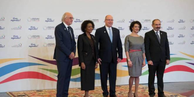 Prince Albert attends XVII Francophonie Summit