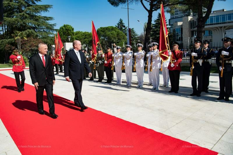 Photo of Prince Albert II visits Albania and other princely news