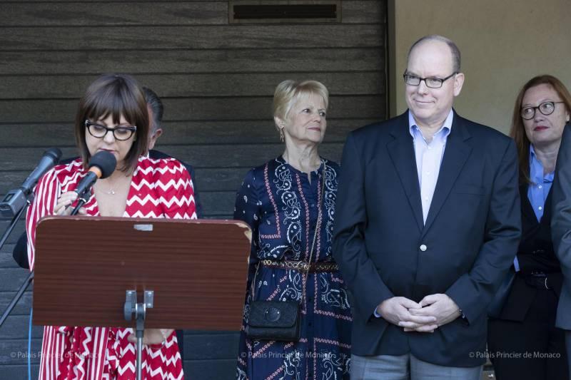 Prince Albert II inaugurates La Maison des Copains