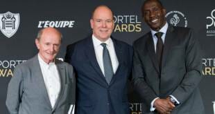 Prince Albert at the Sportel Awards Ceremony
