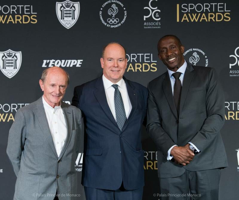 Photo of Prince Albert at the Sportel Awards Ceremony and other princely news