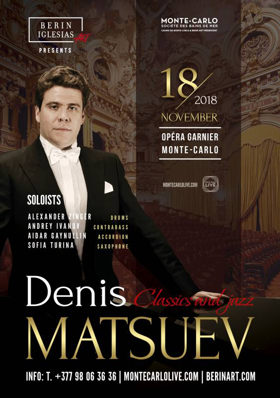 "Exceptional concert of Denis Matsuev in Monaco: piano magician with ""Russian soul"""
