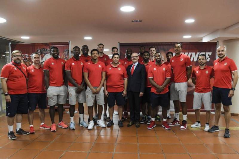 AS Monaco Basket Press Conference