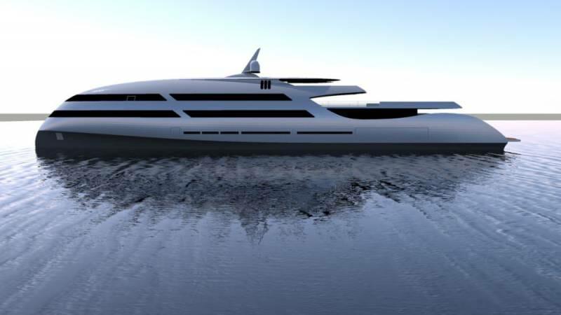 E P O C H 80-meter superyacht by Ricky Smith Designs