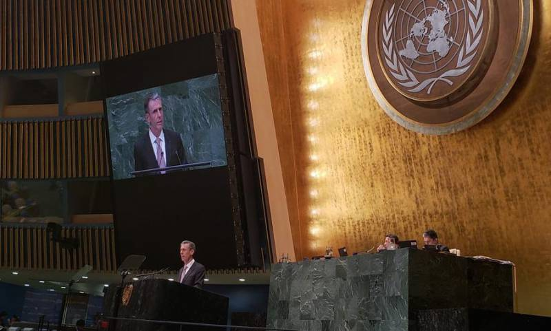 Photo of Monaco at the 73rd session of the UN General Assembly