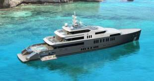 65-meter hydrogen-fueled superyacht concept by VSY