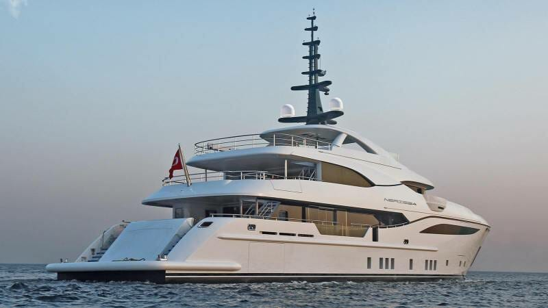 Life on board 48-meter superyacht Nerissa by Bilgin