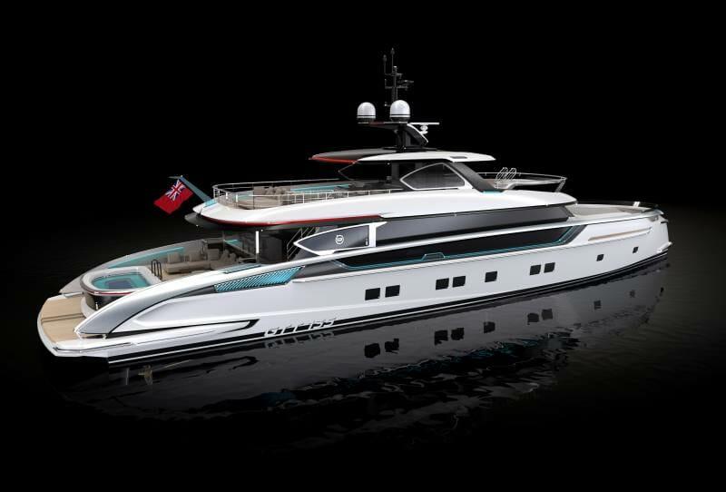 41-meter superyacht GTT135