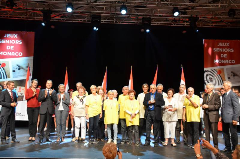 Monaco's Seniors' Games, Full Of Olympic Spirit, Conclude With Cheers