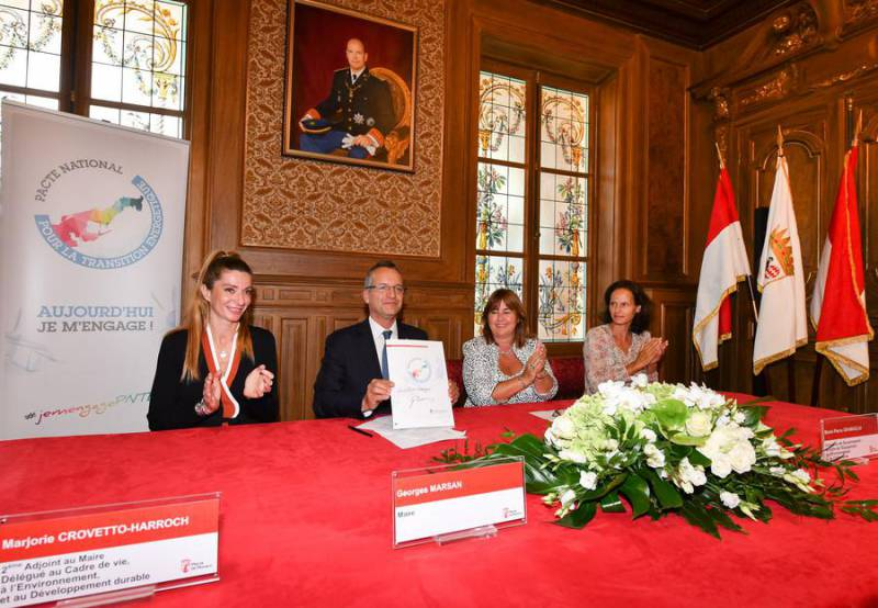 City Hall signs up to Monaco's Energy Transition Pact