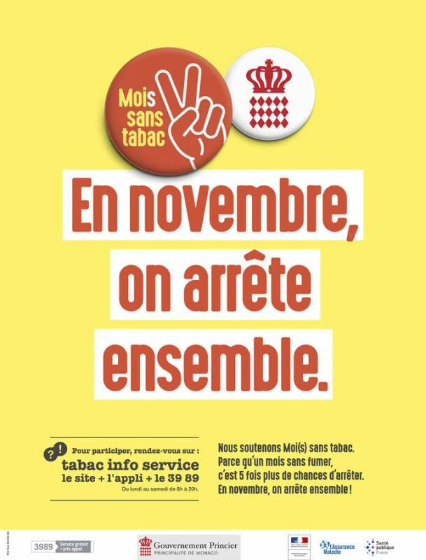 Monaco goes Tobacco Free in November