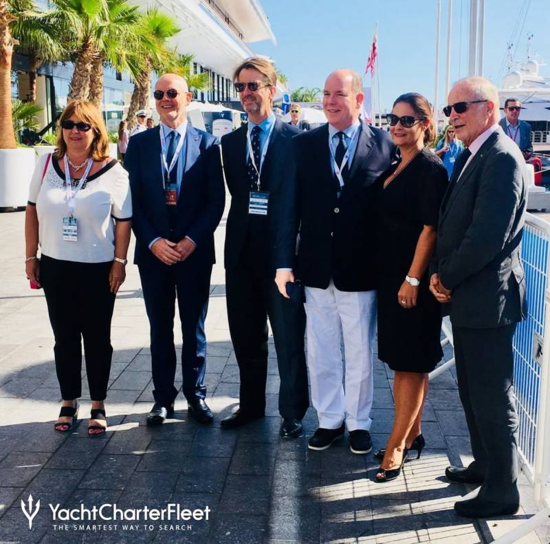 Monaco Yacht Show Prince Albert