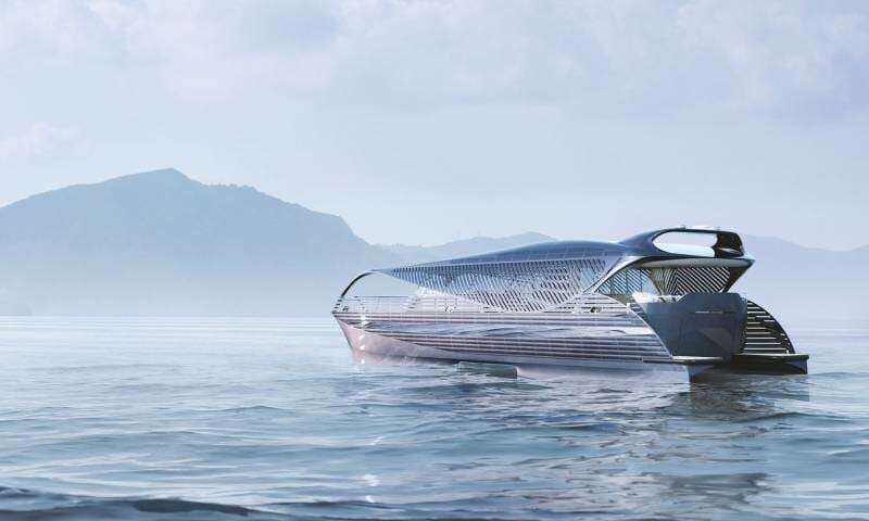 No fuel needed for this solar superyacht