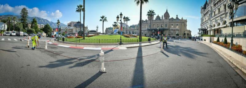 Photo of Traffic Scheme in the Place du Casino