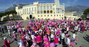 Pink Ribbon walk Monaco