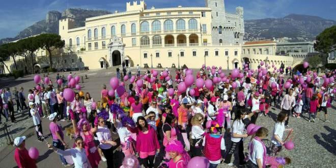 Pink Ribbon walk Monaco