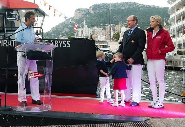 Princely Family christens 'Pirates of the Abyss' Ship