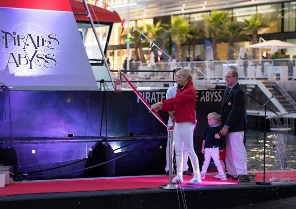 Photo of Princely Family christens 'Pirates of the Abyss' Ship and other princely news
