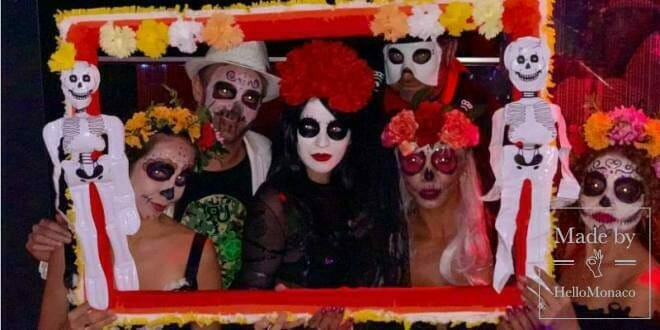 """The Mexican """"Day of the Dead"""" in Monaco"""