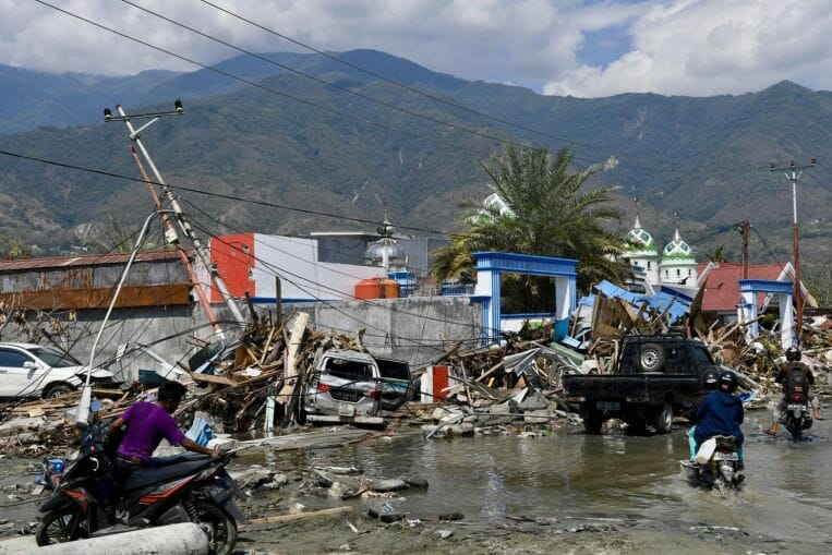 Sulawesi earthquake
