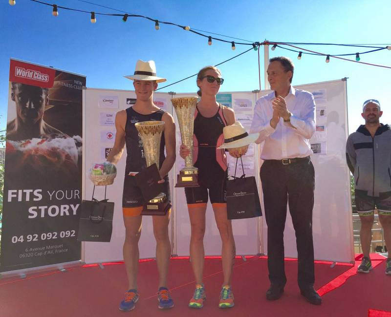 AS Monaco Triumphs at the Cap d'Ail Triathlon