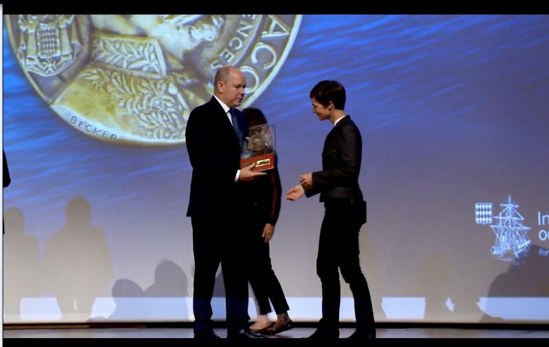 Albert-I Medals awarded to Ellen MacArthur and Professor Eric Karsenti