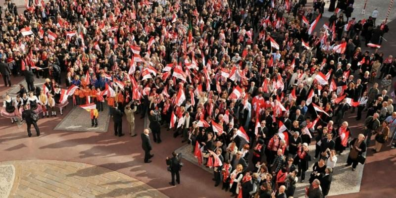 Events for the Monegasque National Festival