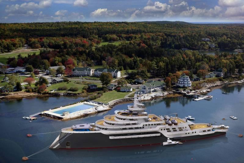 117-meter superyacht concept Alexis