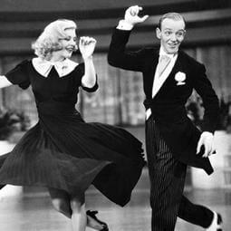 "film ""Swing Time"" by George Stevens"