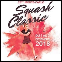 Monte-Carlo Squash Classic 2018