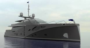 46-meter anti-radar superyacht project Stealth