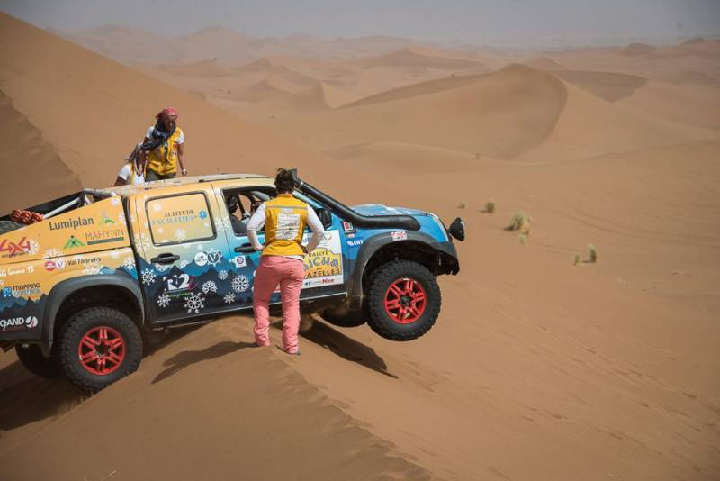 Photo of Conquering the Sahara Desert to Help Children: Princess Grace Nurses Rise to the Challenge